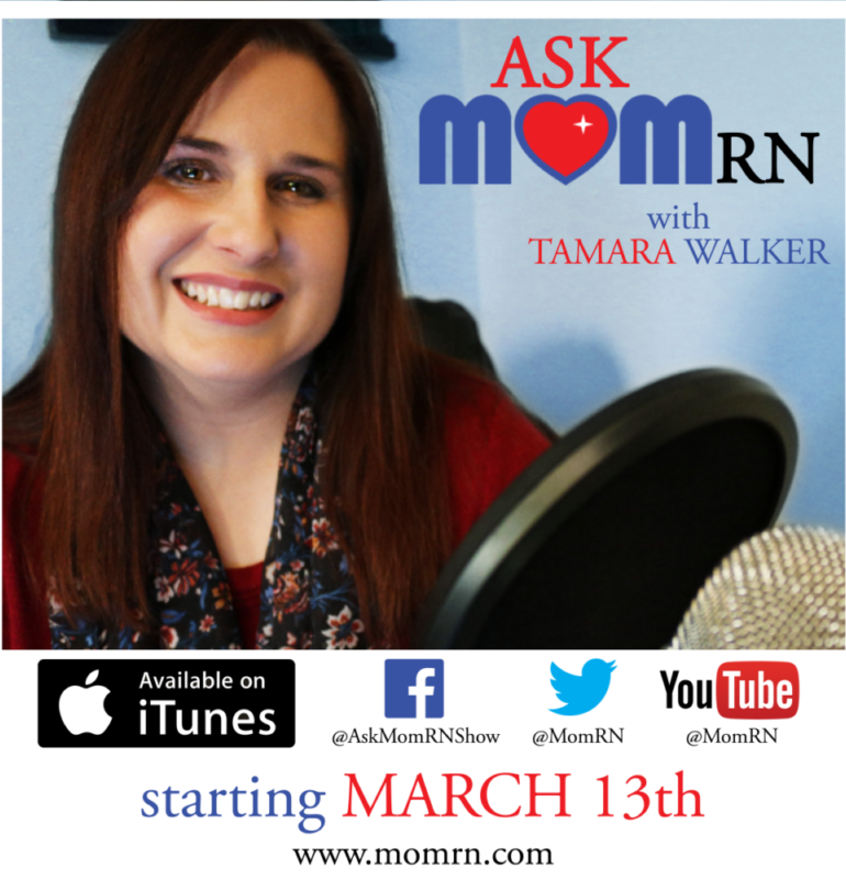 Ask MomRN Podcast Launching March 13th